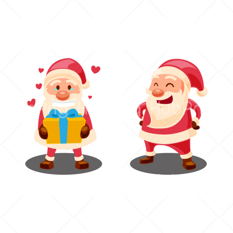 santa clipart png Transparent Background Image for Free