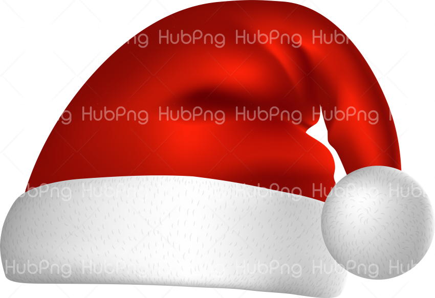 santa hat png clipart hd Transparent Background Image for Free