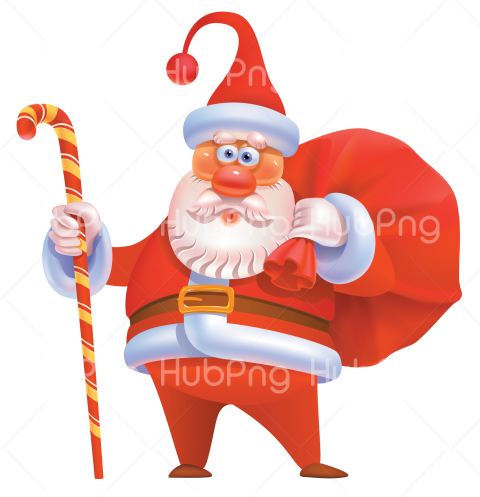santa hat png hd cartoon claus clipart 3d Transparent Background Image for Free