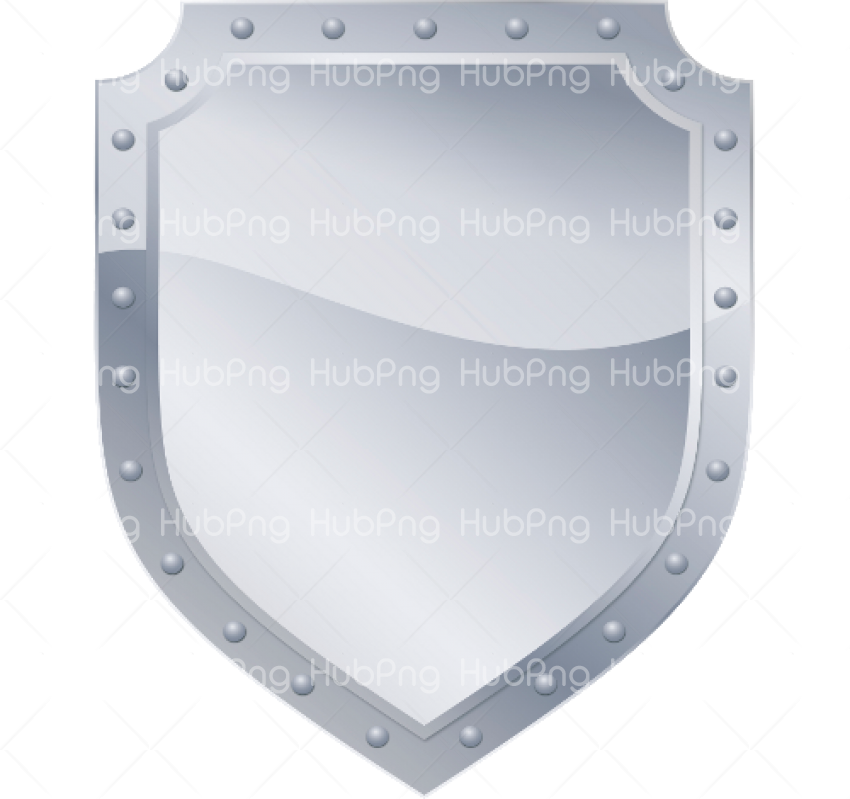 silver shield png hd Transparent Background Image for Free