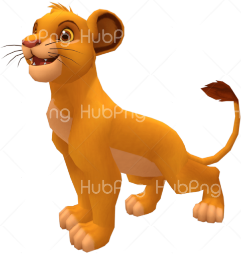 simba png clipart 3d Transparent Background Image for Free