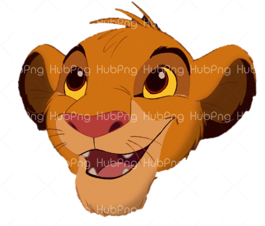 simba png laugh lion vector Transparent Background Image for Free