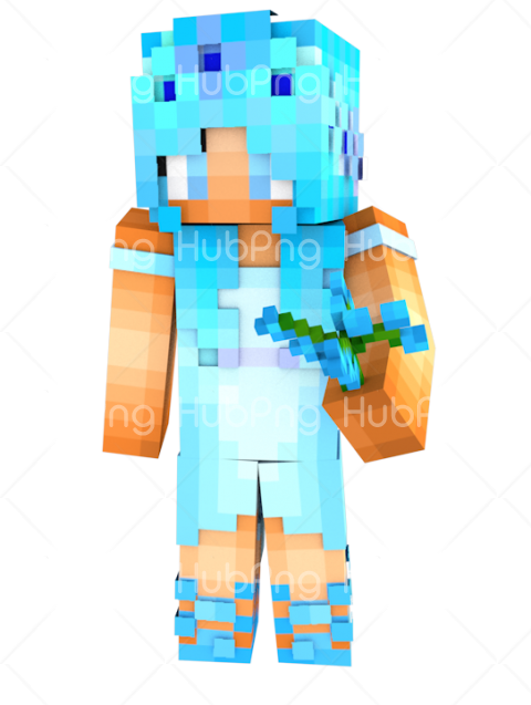 skin minecraft girl img Transparent Background Image for Free