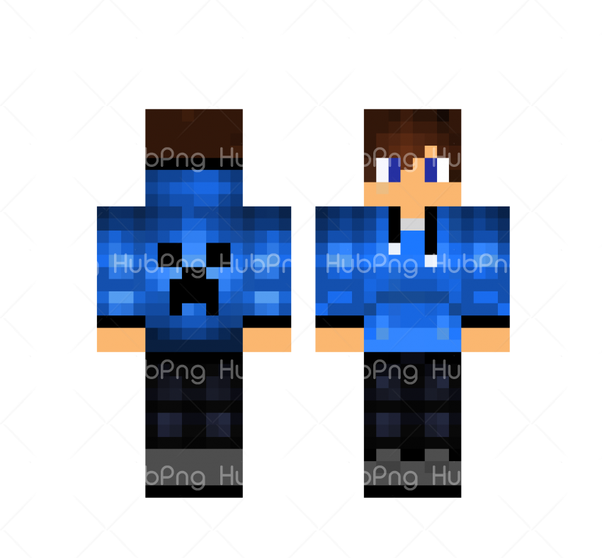 skin minecraft girl png hd Transparent Background Image for Free