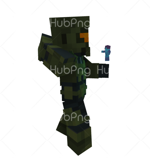 skin minecraft pe png black Transparent Background Image for Free