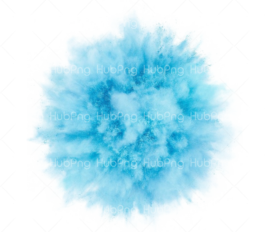 smoke effect png blue Transparent Background Image for Free