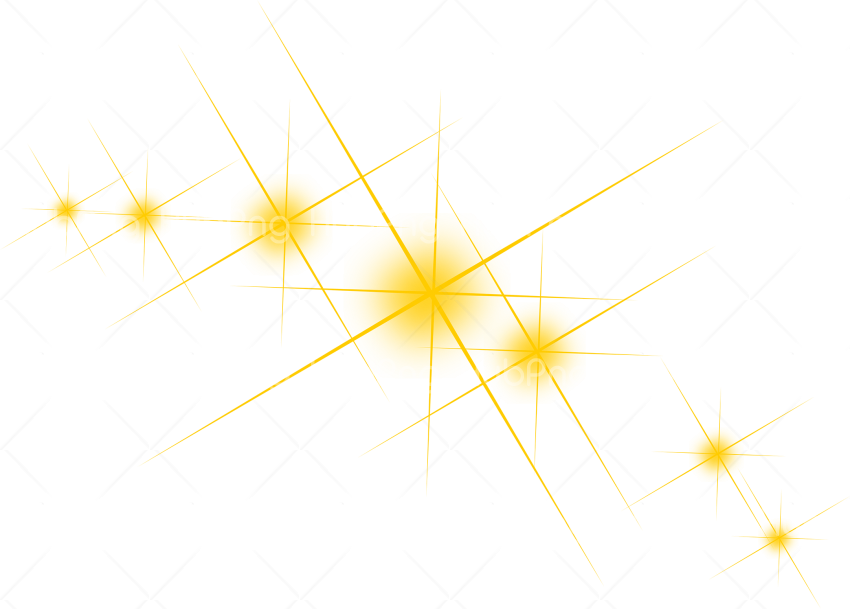 sparkles png hd yellow Transparent Background Image for Free