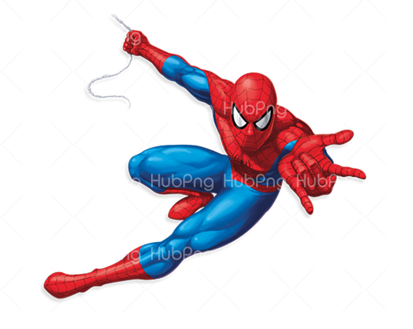 spiderman png hd clipart cartoon Transparent Background Image for Free