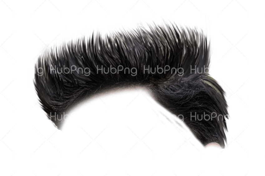 spiky hair png Transparent Background Image for Free