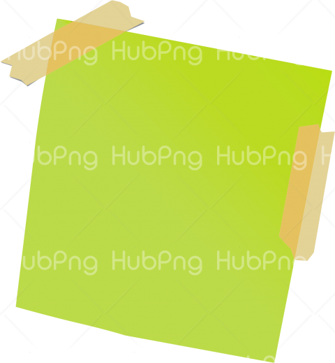 sticker png note Transparent Background Image for Free