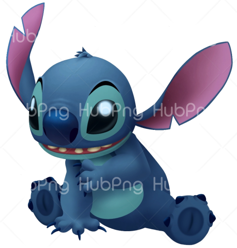 stitch 3d png Transparent Background Image for Free
