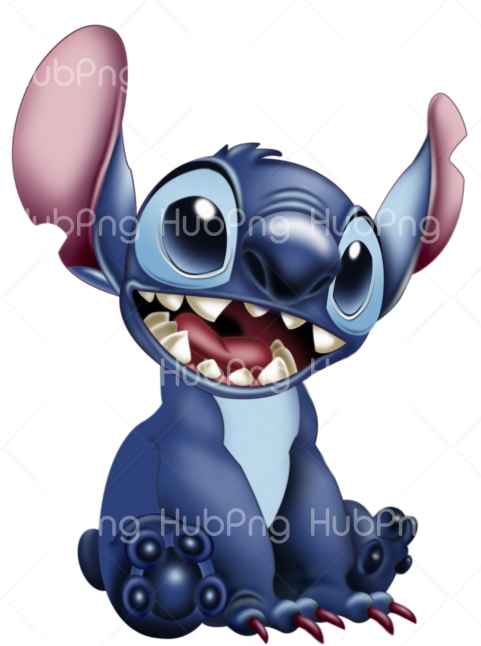 stitch png 3d Transparent Background Image for Free