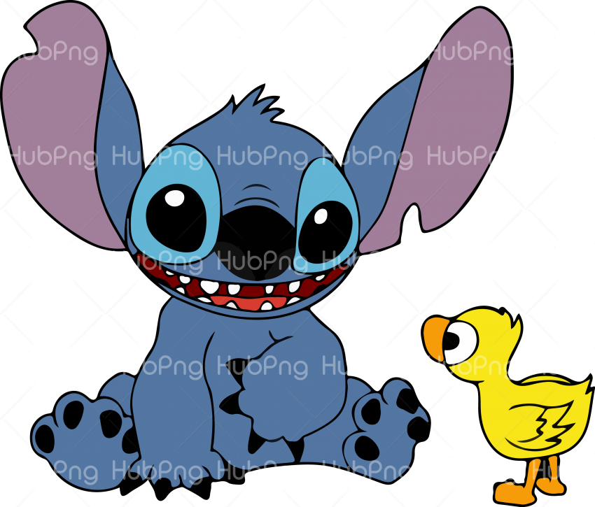 stitch png hd with batuta Transparent Background Image for Free