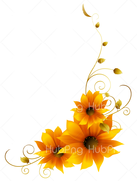 sunflower png clipart Transparent Background Image for Free