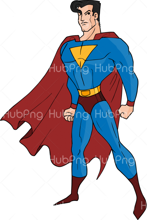 superman png cartoon clipart hd Transparent Background Image for Free