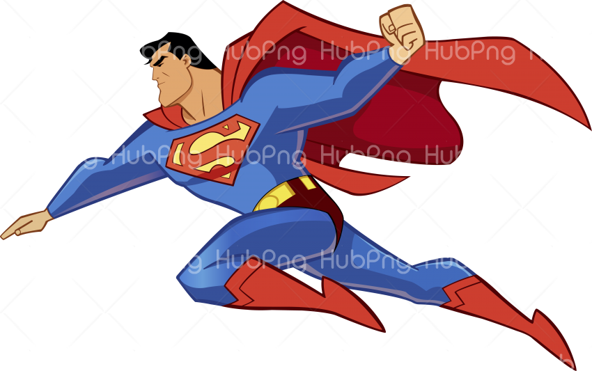 Download superman png flying hd Transparent Background Image for Free