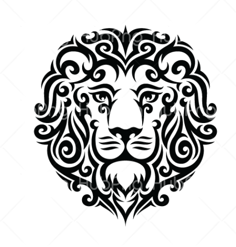 tattoo png lion Transparent Background Image for Free