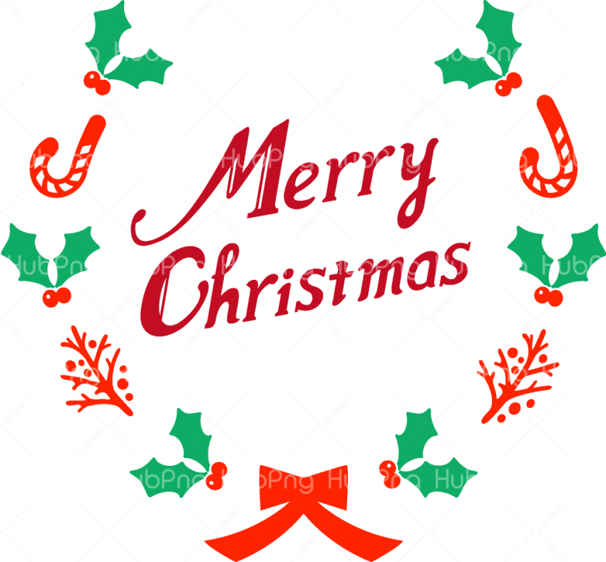 Text merry christmas clipart png Transparent Background Image for Free