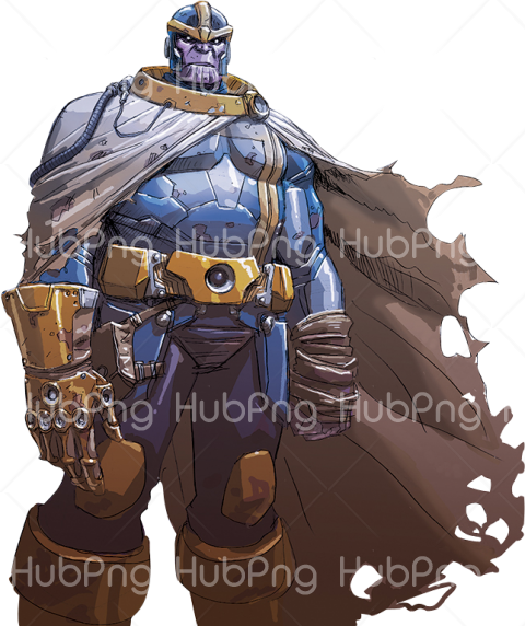 thanos png cartoon hd Transparent Background Image for Free