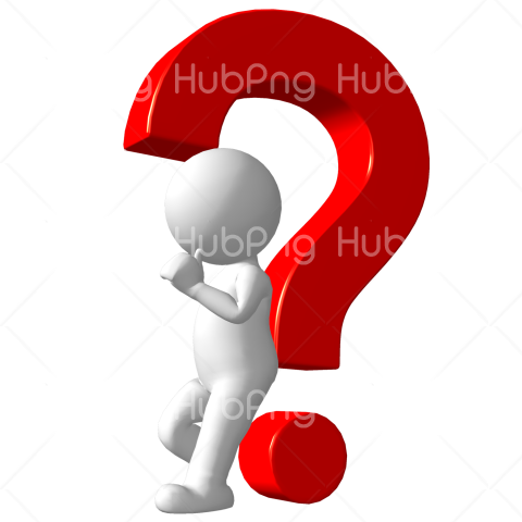 Download Think Question Mark Png Transparent Background Image For