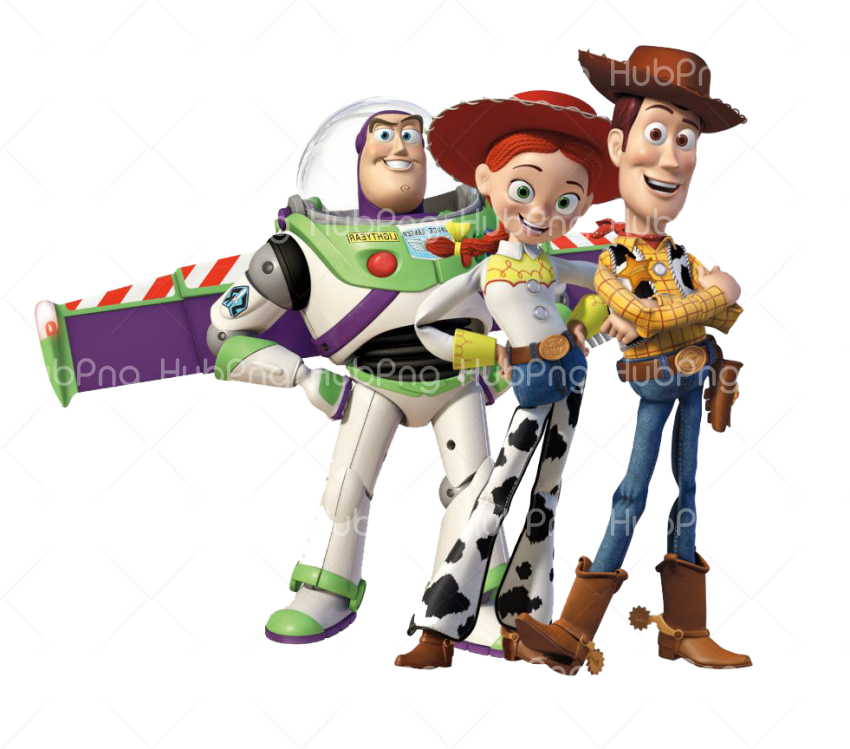 toy story png hd characters Transparent Background Image for Free