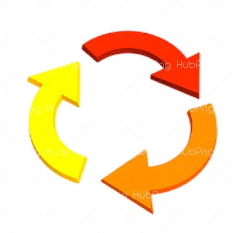 Transparent Clipart Image arrows recycling png Transparent Background Image for Free