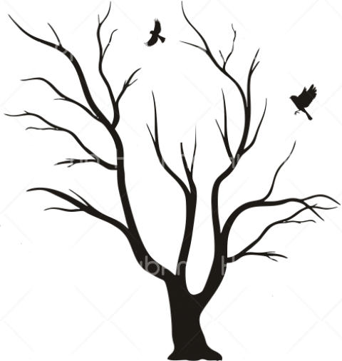 trees png black clipart arboles Transparent Background Image for Free