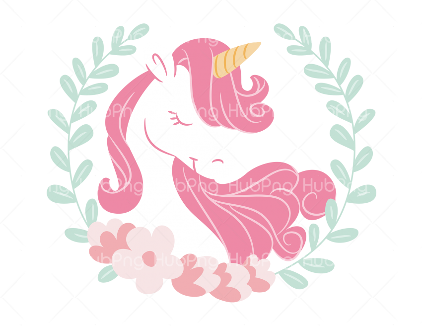 unicornio desenho Transparent Background Image for Free