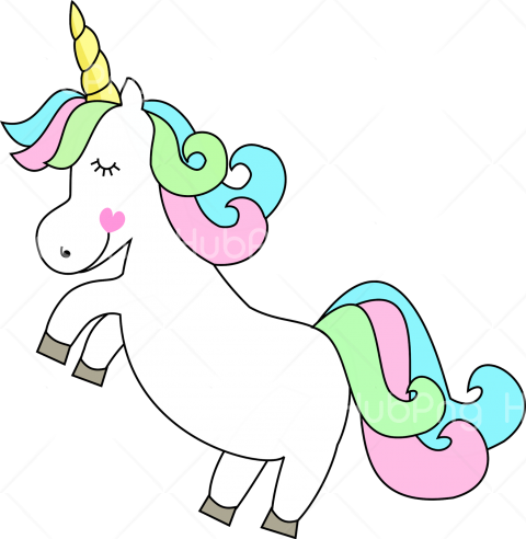 unicornio png clipart Transparent Background Image for Free