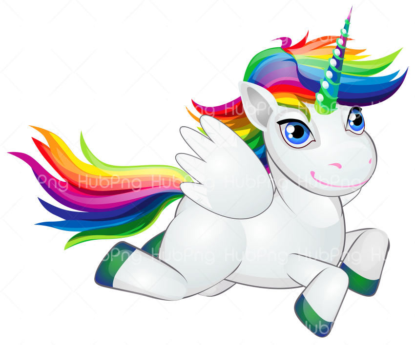 unicornio png fly Transparent Background Image for Free