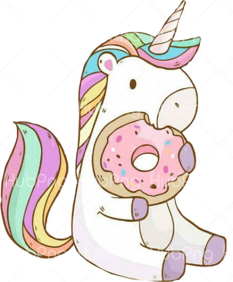 unicornio png hd eat Transparent Background Image for Free