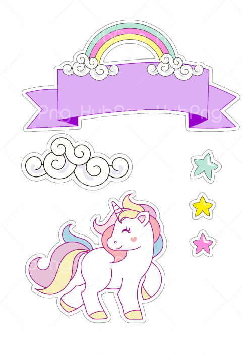 unicornio vector png Transparent Background Image for Free