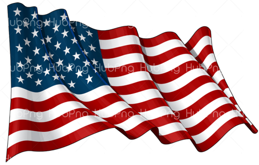 United States Flag PNG america Transparent Background Image for Free