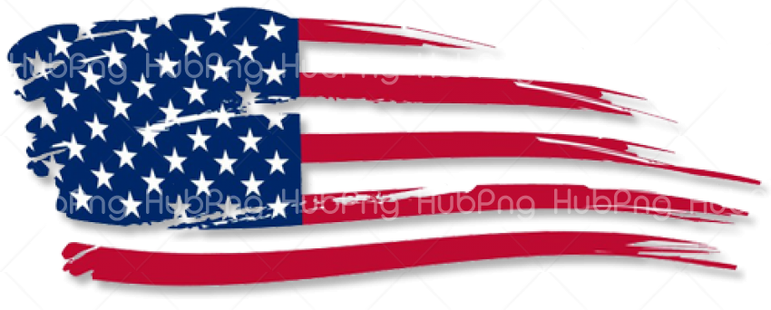 United States flag png clipart Transparent Background Image for Free
