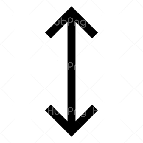 Up And Down Arrow Png Image Transparent Background Image for Free