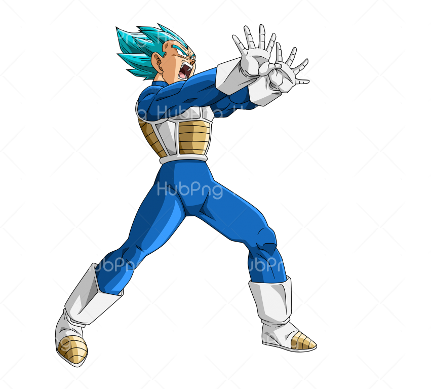vegeta png cartoon Transparent Background Image for Free