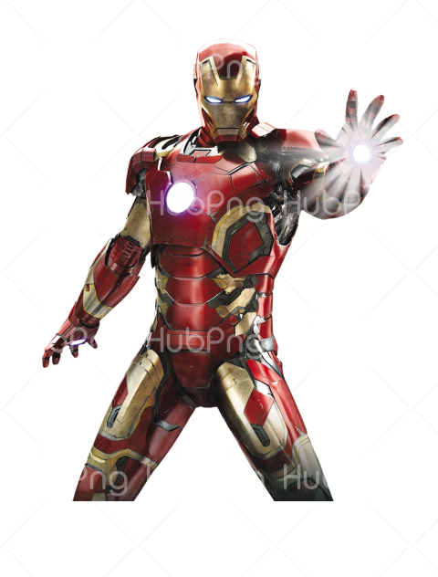 vingadores png hd hand power Transparent Background Image for Free