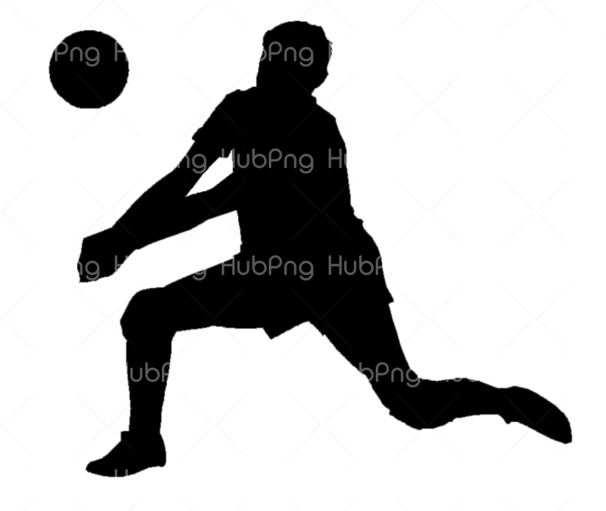 volleyball player png Transparent Background Image for Free