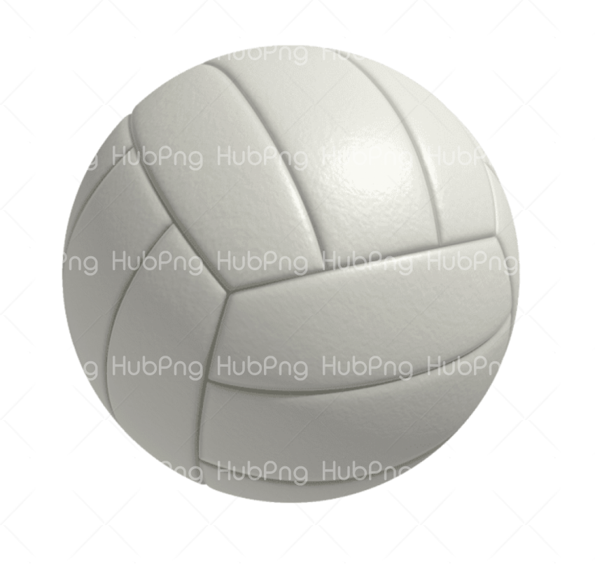 volleyball png white Transparent Background Image for Free