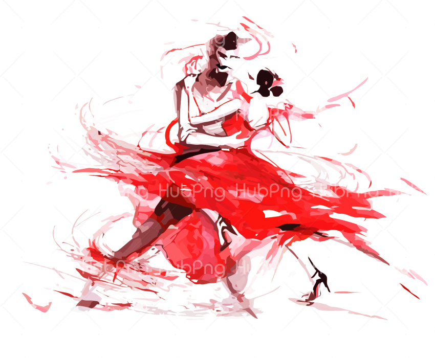 wall drawing dance png Transparent Background Image for Free