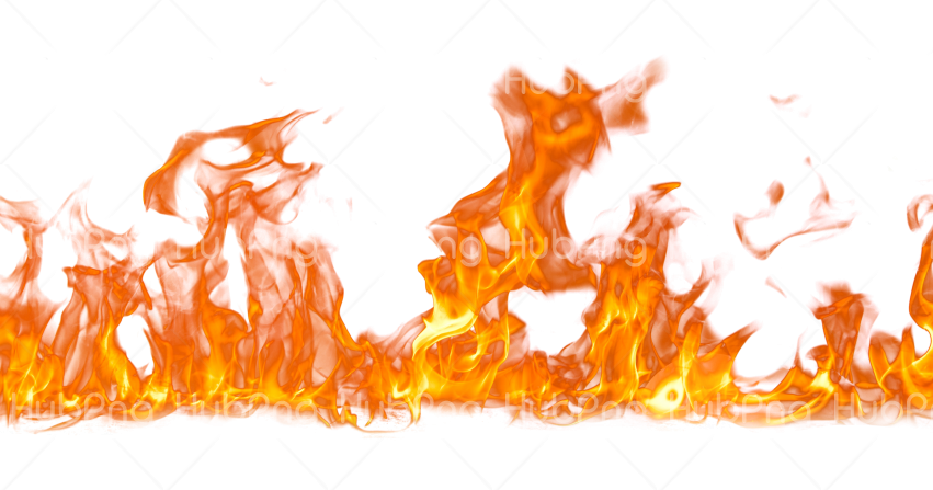 Wide fire png Transparent Background Image for Free
