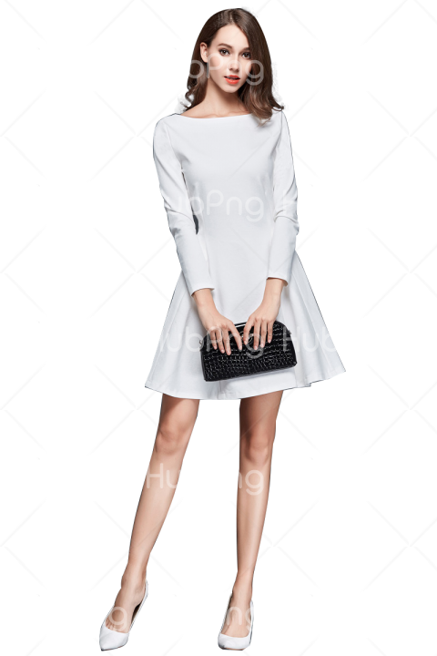 woman fashion style png Transparent Background Image for Free