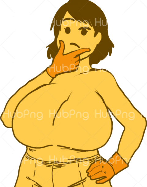 woman memes comic png Transparent Background Image for Free