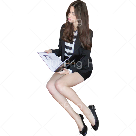 woman png read a book hd Transparent Background Image for Free