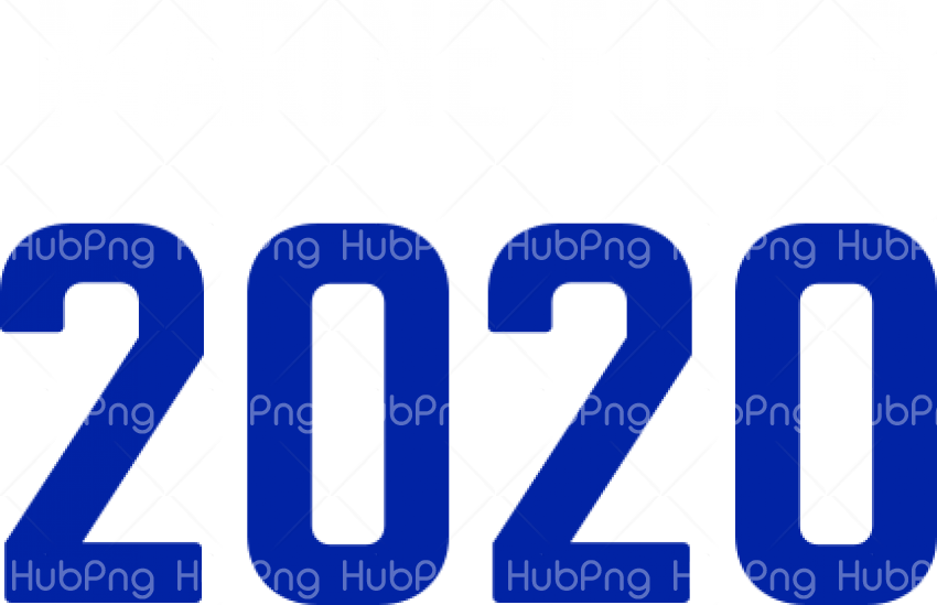 Year 2020 PNG HD Transparent Background Image for Free