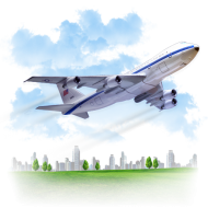 airplane png clipart with smoke