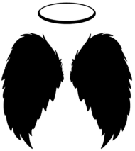angel wings png black, alas de angel, ангельские крылья, ailes d'ange, ali d'angelo HD