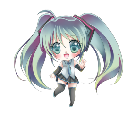 anime chibi girl png