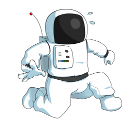 astronaut png cartoon children kids space clipart