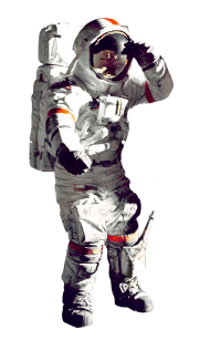 astronaut png fly in space